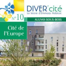 couverture publication diver cité Aulnay-sous-bois n° 10