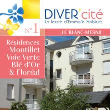 couverture publication diver cité Le Blanc-Mesnil n°1