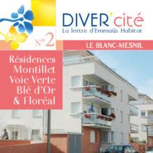 couverture publication diver cité Le Blanc-Mesnil n°2