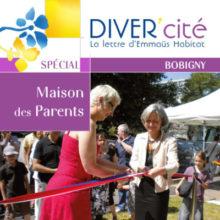 couverture publication diver cité Bobigny numéro spécial Maison des parents