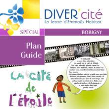 couverture publication diver cité Bobigny numéro spécial plan guide