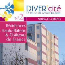 couverture publication diver cité Noisy-Le-Grand n°2