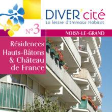 couverture publication diver cité Noisy-Le-Grand n°3