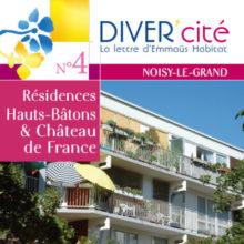 couverture publication diver cité Noisy-Le-Grand n°4