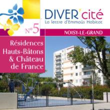 couverture publication diver cité Noisy-Le-Grand n°5