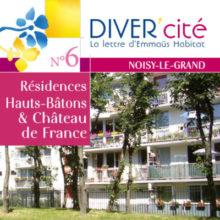 couverture publication diver cité Noisy-Le-Grand n°6