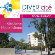 couverture publication diver cité Noisy-Le-Grand n°7