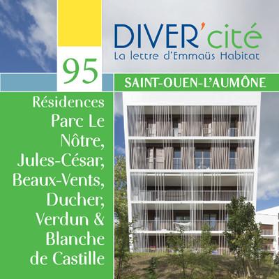Saint-Ouen l'Aumône  I  Parc le Nôtre – Jules-César, Beaux-Vents & Ducher