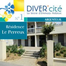 couverture publication diver cité Argenteuil n°1