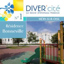 couverture publication diver cité Méry-sur-Oise n°1