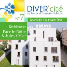couverture publication diver cité Saint-Ouen-l'Aumône n°7