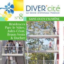 couverture publication diver cité Saint-Ouen-l'Aumône n°8