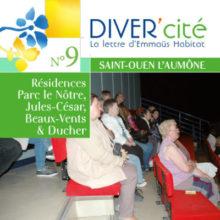 couverture publication diver cité Saint-Ouen-l'Aumône n°9
