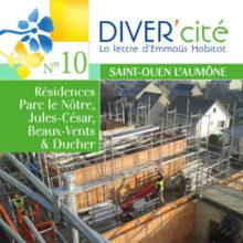 couverture publication diver cité Saint-Ouen-l'Aumône n°10