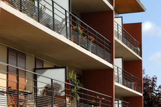vue balcon après achèvement projet