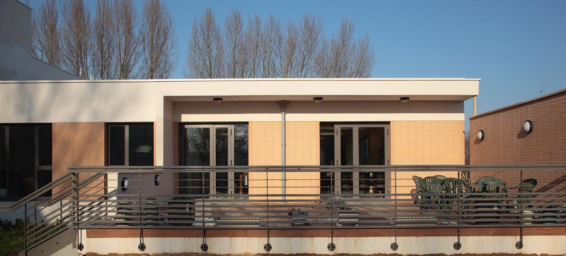 vue extérieure façade