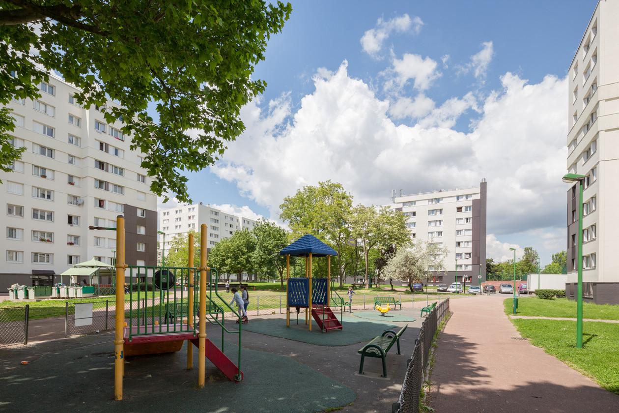 93 600 I Aulnay-sous-Bois I Europe I Réhabilitation de 802 logements