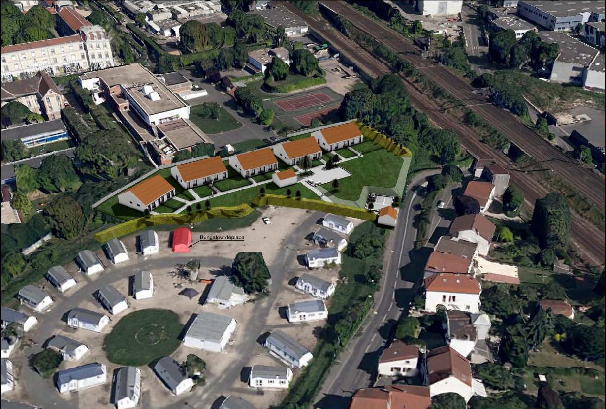 94 200  I  Ivry-sur-Seine  I  Construction d'un centre d'hébergement de 10 logements
