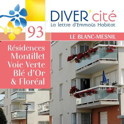 Le Blanc-Mesnil  I  Montillet – Voie Verte – Blé d'Or & Floréal