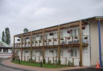 façade fleurie