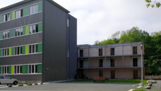 bâtiment vue d'ensemble