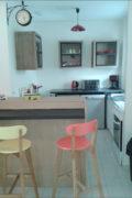 vue intérieure de la cuisine