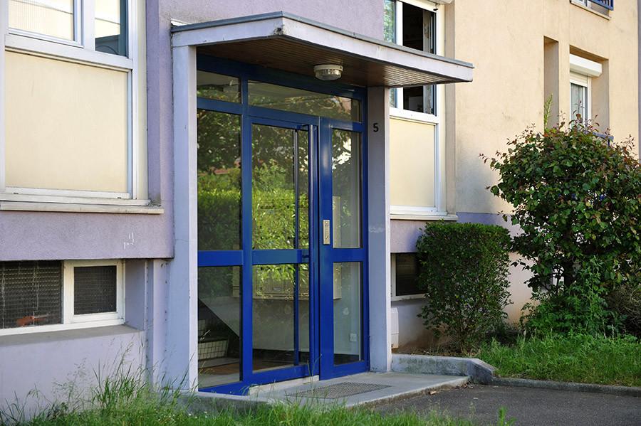porte hall d'entrée