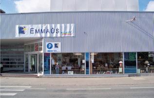 façade magasin Emmaüs