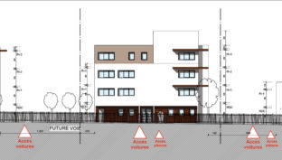 plan façade rue