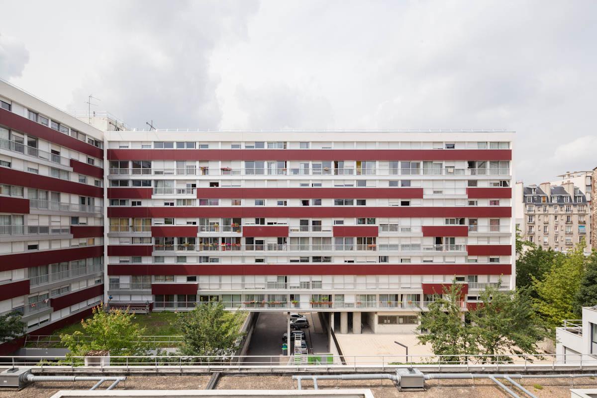 75 011  I  Paris  I  Charonne  I  Réhabilitation de 125 logements