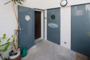 portes d'entrées avec hublots