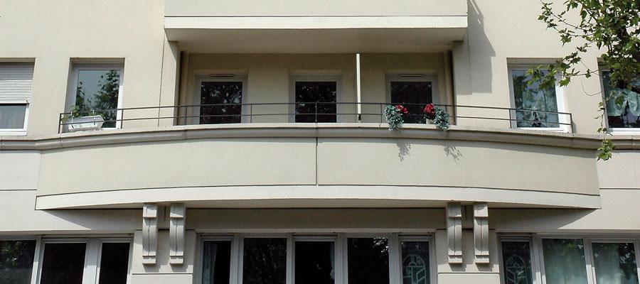 façade balcon