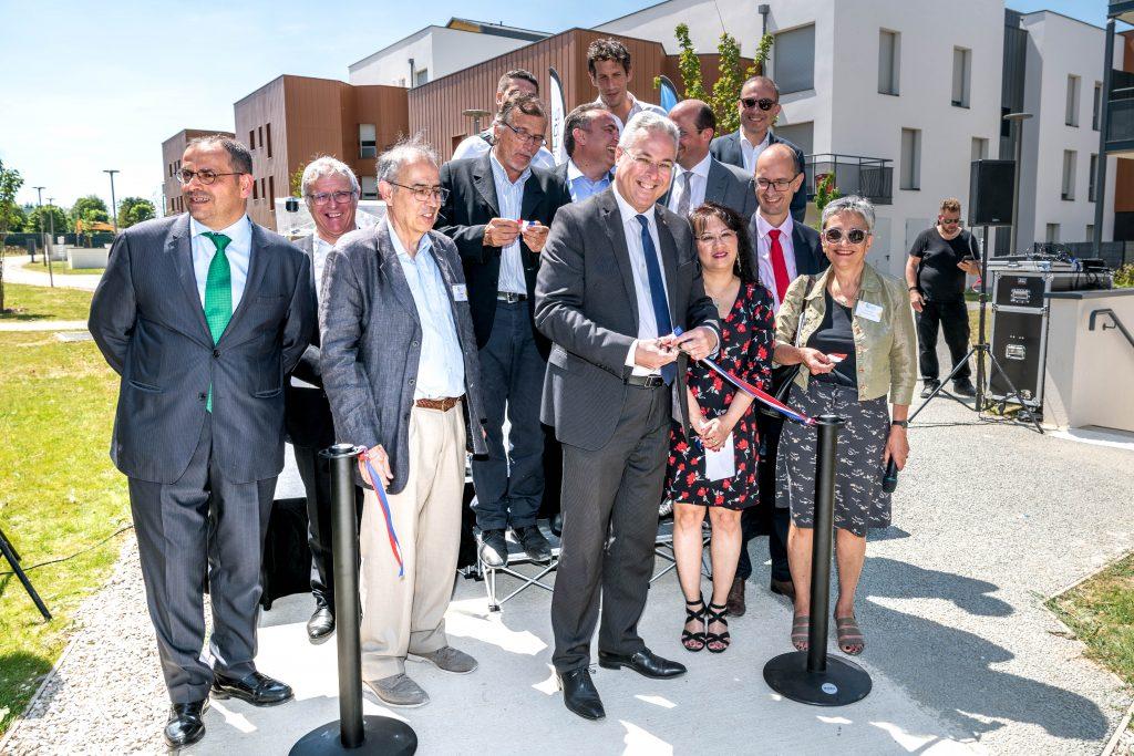 emmaus habitat-Ecoquartier Sycomore Bussy-Saint-Georges-Inauguration-juillet2019