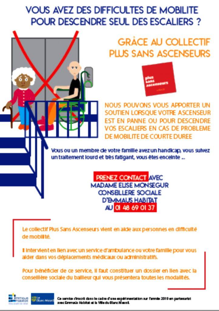 emmaus habitat-Plus Sans Ascenseur-8juillet2019-affichette