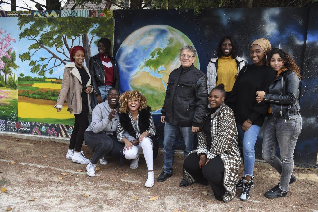 EMMAUS HABITAT-Les Bles d'Or-Le Blanc-Mesnil-93-Fresque-28 nov 2018-2