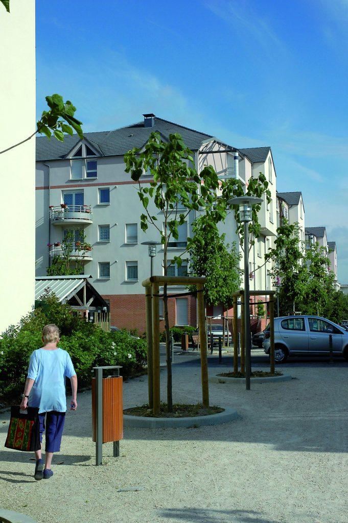93 Le Blanc Mesnil / Montillet / 250 logements démolition / reconstruction / ANRU