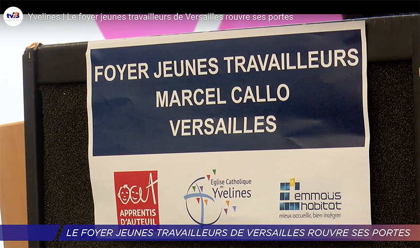 emmaus habitat-inauguration FJT Marcel Callo-Versailles