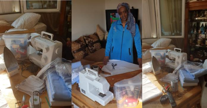 Emmaüs habitat - couturière solidaires - Blanc-Mesnil