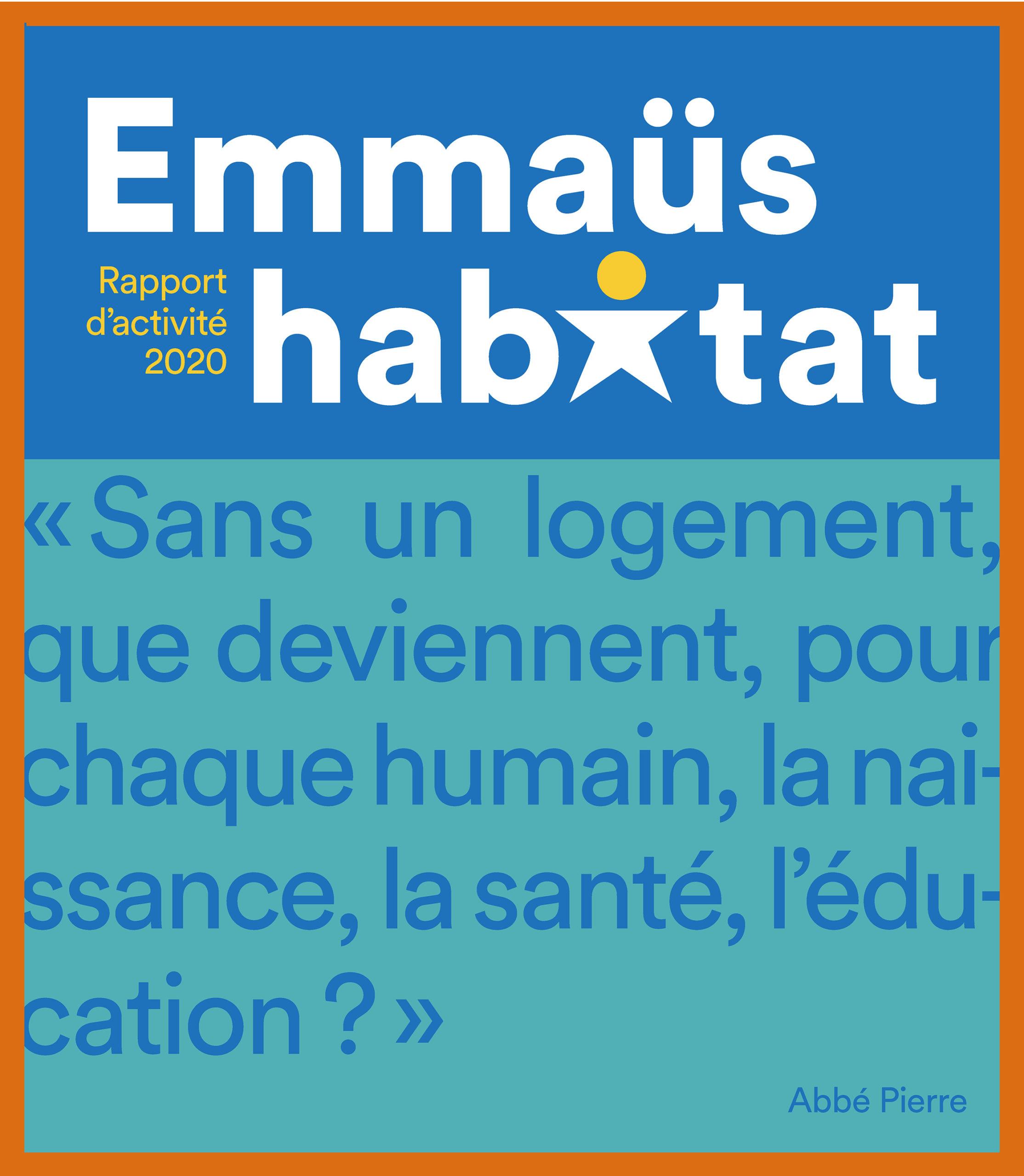 EMMAUS_HABITAT_2020_rapport d'activite-couv