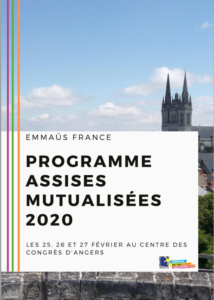 Assises Mutualisées d'Emmaüs France-fevrier 2020